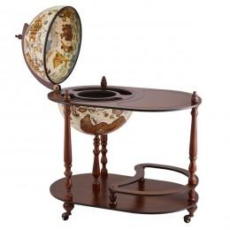 """Напольный глобус-бар со столиком """"Vivalto"""""""