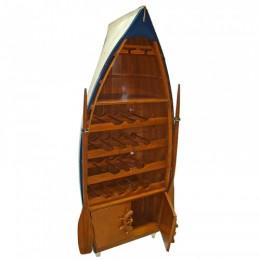 Бар-лодка, с дверцами, 58х32,5х143 см