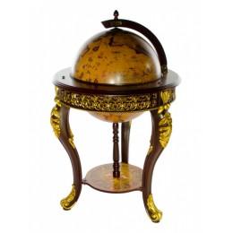 Глобус-бар напольный, сфера 45 см, JUFENG
