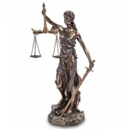 """Статуэтка Veronese """"Фемида-богиня правосудия""""  (Юстиция)  30см (bronze)"""