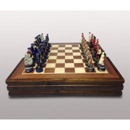 """Подарочные шахматы """"Пираты Карибского моря"""" 36х36см"""