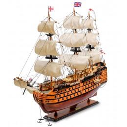 """SPK-01 Модель британского линейного корабля 1668г. """"HMS Victory"""""""