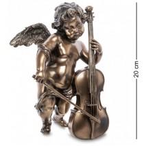 """Статуэтка """"Херувим с виолончелью"""" WS-976  (Veronese)"""