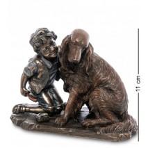 """Статуэтка """"Мальчик с собакой"""" WS-989 (Veronese)"""