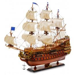 """SPK-04 Модель французского линейного корабля 1669г. """"Le Soleil Royal"""""""