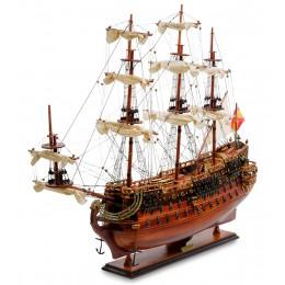 "SPK-07 Модель испанского линейного корабля 1690г. ""San Felipe"""