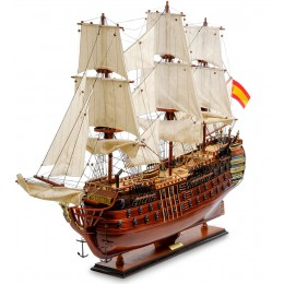 """SPK-09 Модель испанского линейного корабля 1784г. """"Santa Ana"""""""