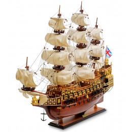 """SPK-02 Модель британского линейного корабля 1637г. """"Sovereign of the seas"""""""