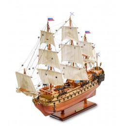 """SPK-15 Модель российского линейного корабля 1715г. """"Ингерманланд"""""""