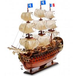 "SPK-03 Модель французского линейного корабля 1668г. ""Le Royal Louis"""