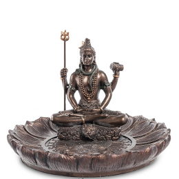 "Подставка для благовоний Veronese ""Шива"" (bronze) WS-545"