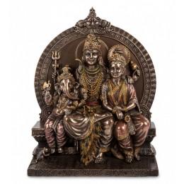 "Статуэтка Veronese ""Святое семейство"" (bronze) WS-664"
