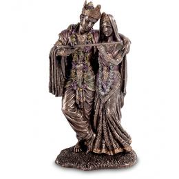 """Статуэтка Veronese """"Кришна и Радха"""" (bronze) WS-544"""