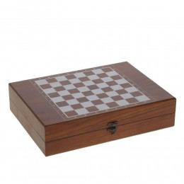 Игра настольная 2 в 1 (шахматы, гольф), L34 W25 H8 см