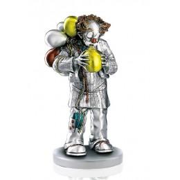 """Статуэтка с серебрением Mida 120241 """"Клоун с шариками"""""""