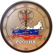 """Настенные часы """"Карта России"""""""