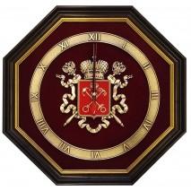 "Настенные часы ""Герб Санкт-Петербурга"""