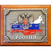 """Панно """"РОССИЯ"""" в подарочной упаковке"""