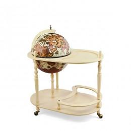 """Глобус-бар со столиком """"Лаурано"""", сфера 42см"""