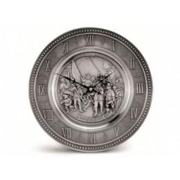 """Настенные часы из олова """"Meisterwerke"""", d.25 см"""