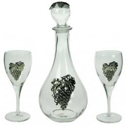 """Подарочный набор для вина на 2 персоны """"Лоза"""""""