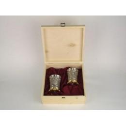 """Подарочный набор из 2 -х бокалов для виски """"Raffael"""", h.10,5 см"""