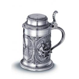 """Коллекционная пивная кружка из олова """"Rothenburg"""" выс.17см"""