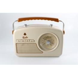 Радио в стиле ретро GPO Rydell Cream