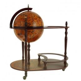 "Глобус - бар со столиком ""Магелан"" 42cм"