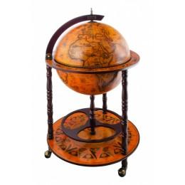 Глобус-бар напольный, сфера 45 см, PTOLEMAEUS