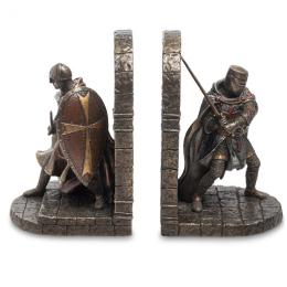 """Держатели для книг Veronese """"Мальтийские крестоносцы"""" (bronze)"""