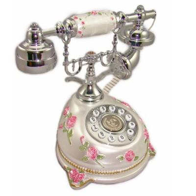 """Кнопочный телефон в ретро стиле """"Чайная роза 2"""""""