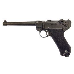"""Пистолет """"Люгер"""" P08, Германия, 1898г. 1-я и 2-ая МВ, удлинненый ствол"""