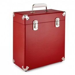 Кейс для виниловых пластинок GPO Red
