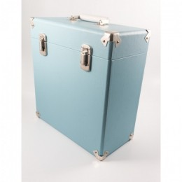 Кейс для виниловых пластинок GPO Blue