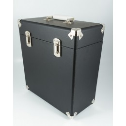Кейс для виниловых пластинок GPO Black