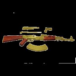 """Модель Автомата АК-47 """"Золотой Калашников"""" (наградной)"""