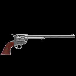 """Револьвер """"Peacemaker""""/""""Миротворец"""", США, 1873 г.  Кольт, калибр 45, 12'', хром"""