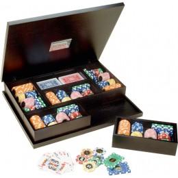 Набор для покера Renzo Romagnoli в кейсе из дерева