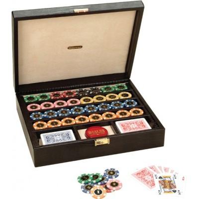 Набор для покера Renzo Romagnoli кейс из змеиной кожи