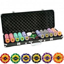 """Набор для покера на 500 фишек """"Корона"""""""