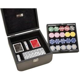 Подарочный набор для покера + домино Renzo Romagnoli в боксе