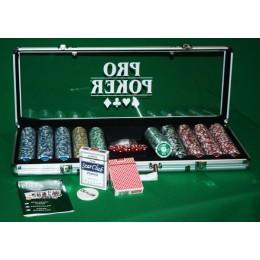 """Профессиональный набор для покера 500 фишек """"ProPoker 500"""""""