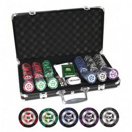 """Профессиональный набор для покера 300 фишек """"Stars Ultra"""""""