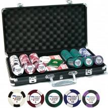 "Набор для покера 300 фишек ""World Poker Tour"""