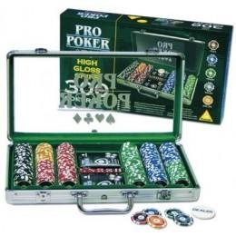 """Набор для покера на 300 фишек """"ProPoker 300"""""""