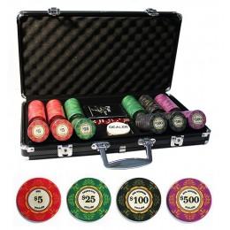 """Вип набор для покера на 300 керамических фишек """"Deluxe Ceramic 300"""""""