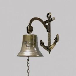 Рында корабельная Alberti Livio (античная бронза) h.14см