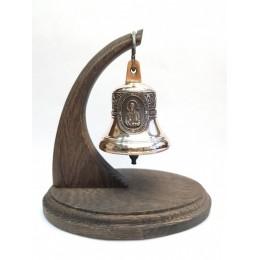 """Колокол бронзовый на подставке """"Святой апостол Пётр"""" d7,5 см"""