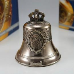 """Колокол бронзовый на подставке """"Валдай"""" d12см"""